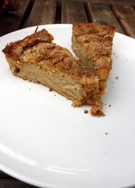 Beatos paprastas obuolių pyragas