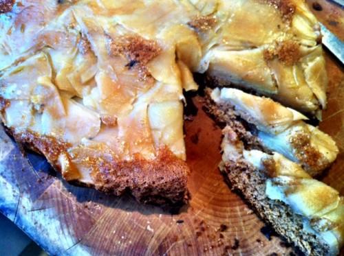 Beatos meduolinis obuolių pyragas