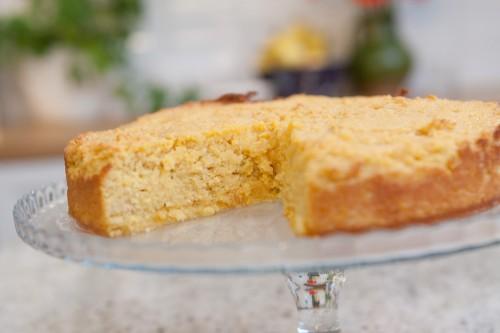 Beatos apelsinų ir migdolų pyragas be miltų