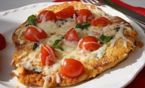 """Vištienos kepsnys su sūriu """"Žalgiris"""", vyšniniais pomidorais ir baziliku _Beatos virtuvė"""