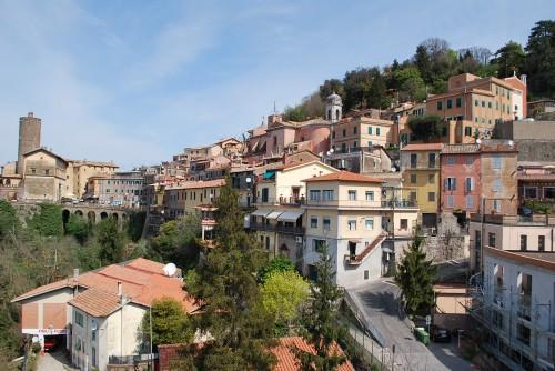 Tipiškas Lazio miestelis