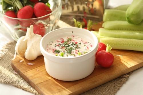 Beatos ridikeliu salotos