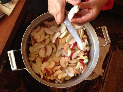 Obuoliai sūriui