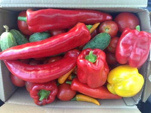 Dėžė daržovių