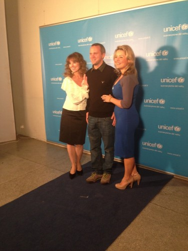 Beata UNICEF renginyje