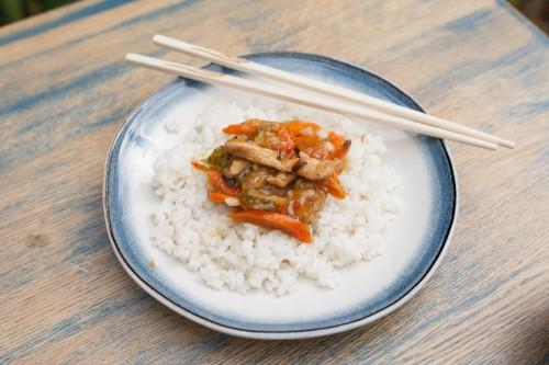 Greita vištiena kiniškai