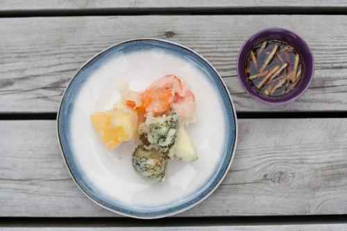 Daržovių tempura