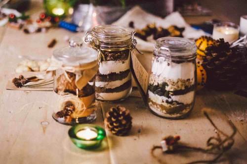 sausainiai stiklainyje