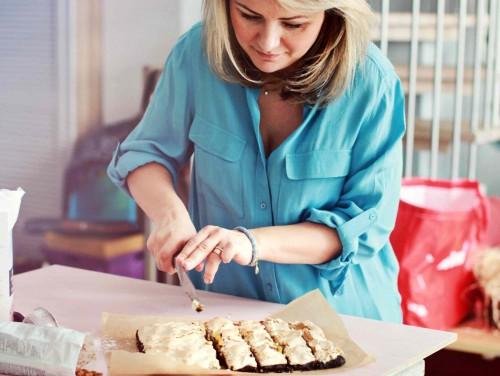 Beata raiko pyragą