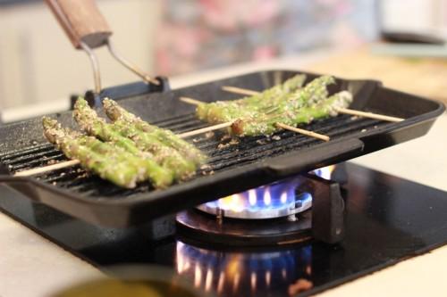 Kepti šparagai su sezamais2_Beatos virtuve