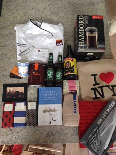 NYC goodie bag
