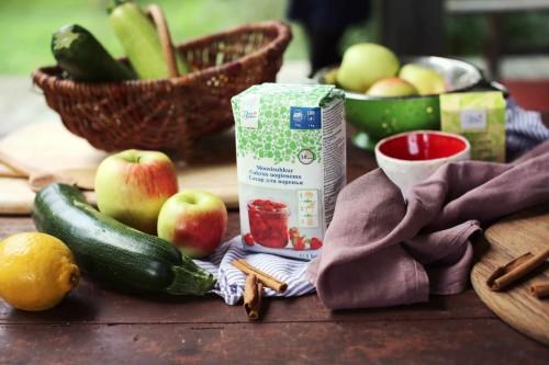 Beatos obuoliu ir cukiniju uogiene