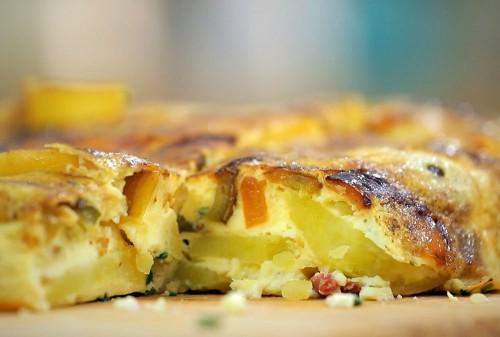 Beatos virtuvė. Daržovių pyragas