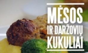 Beatos virtuvė. Mėsos ir daržovių kukuliai