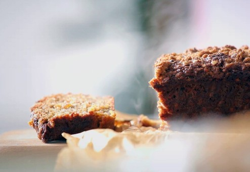 Beatos virtuvė. Moliūgo ir rudojo cukraus pyragas