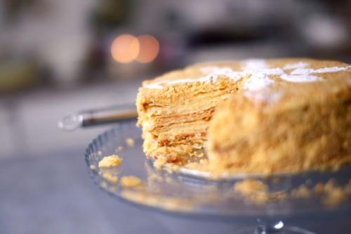 Beatos virtuve - mazieji virtuves sefai Napoleonas tortas rugile