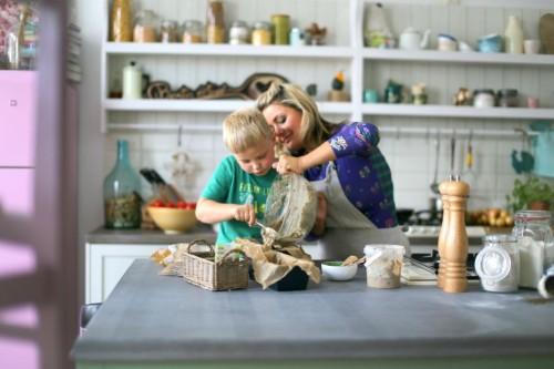 Beatos virtuve, lietuviskos grozybes, rugine duona, Jurgis, vaikai