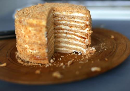 Beatos virtuve, lietuviskos grozybes, Medutis, medaus tortas