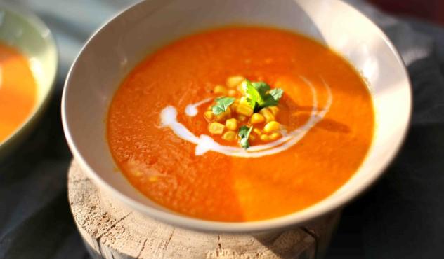 Beatos virtuve, morku pomidoru sriuba