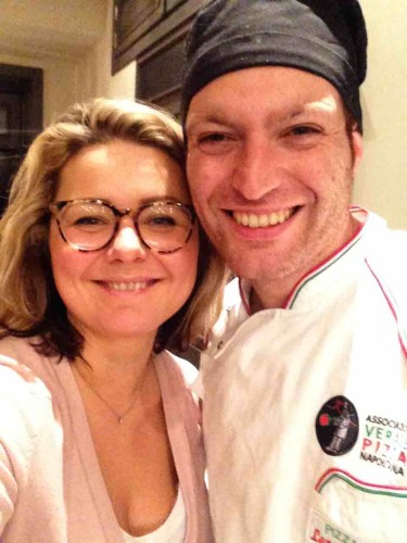 Beata su Genaro pizza chef