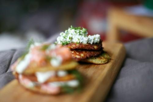 Beatos virtuve - bulviniai blynai
