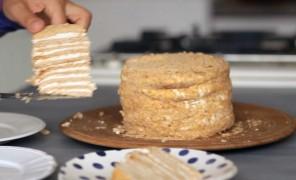 Beatos virtuvė. Medaus tortas