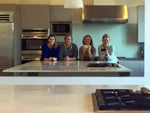 """Venturis table"" kulinarijos mokyklos seimininke Laura"
