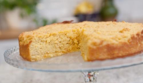 Apelsinų ir migdolų pyragas