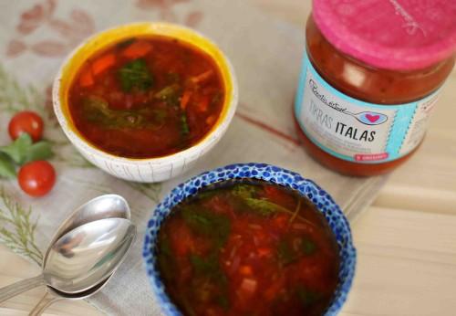 pupelius sriuba