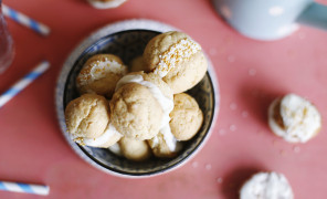 whoopie sausainukai