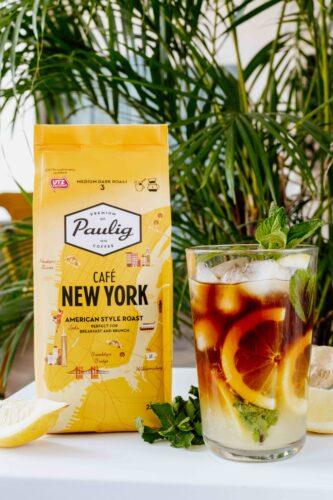 Gaivus citrinų limonado ir kavos kokteilis