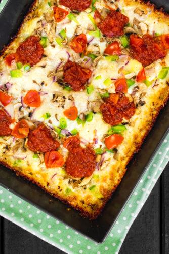 Detroito sesės Detroito stiliaus pica
